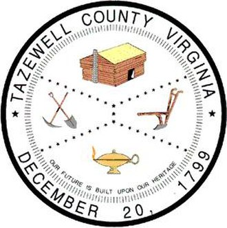 Tazewell County, Virginia - Image: Tazewell County Seal