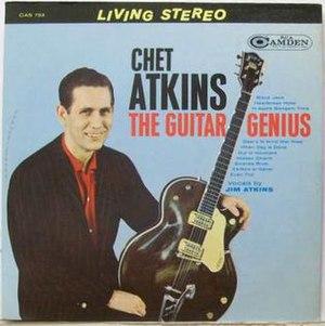 The Guitar Genius - Image: The Guitar Genius Chet Atkins