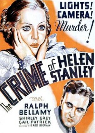 The Crime of Helen Stanley - Film poster