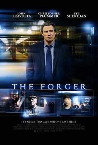 The Forger (2014 film) - Theatrical release poster