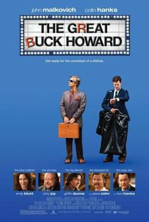 The Great Buck Howard - Theatrical release poster