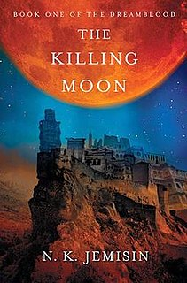 <i>The Killing Moon</i> (novel) novel by N. K. Jemisin