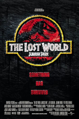 The Lost World: Jurassic Park - Theatrical release poster