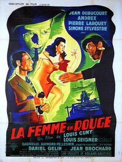 <i>The Woman in Red</i> (1947 film) 1947 film directed by Louis Cuny