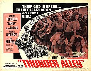 Thunder Alley (film) - Theatrical poster