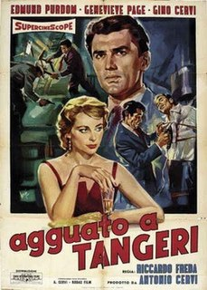 <i>Trapped in Tangiers</i> 1957 film by Riccardo Freda
