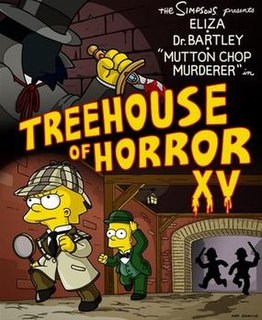 Treehouse of Horror XV 1st episode of the sixteenth season of The Simpsons