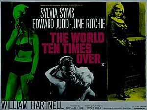 The World Ten Times Over - British Film poster