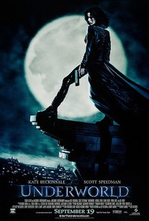 <i>Underworld</i> (2003 film) 2003 film by Len Wiseman
