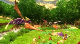 The Legend of Spyro: Dawn of the Dragon - A screenshot from the game.