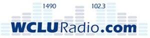 WCLU (AM) - Image: WCLU 1490 102.3 logo