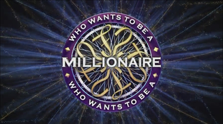 <i>Who Wants to Be a Millionaire?</i> (British game show) British television quiz show