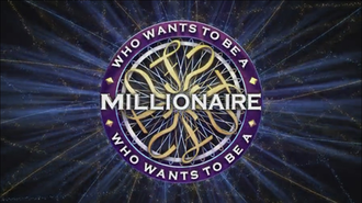 Who Wants to Be a Millionaire? (UK game show) - Titlecard for the revived series of the show (20th anniversary version)