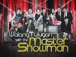 Walang Tulugan With The Master Showman Title Card