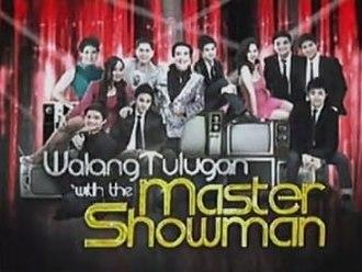 Walang Tulugan with the Master Showman - Title card