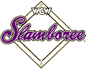 Slamboree - The official Slamboree logo used from 1993 to 1998.