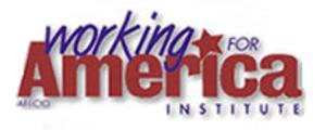 Working for America Institute - Image: Wfa logo