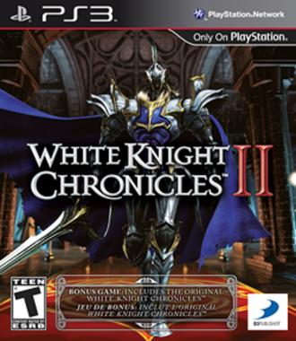 White Knight Chronicles II - North American box art