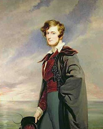 William Craven, 2nd Earl of Craven - Lord Craven by Sir George Hayter.