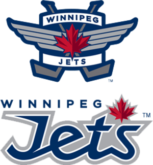 2011–12 Winnipeg Jets season - The Winnipeg Jets logos honouring the Royal Canadian Air Force