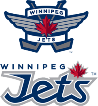 Winnipeg Jets - The main and secondary logos of the Winnipeg Jets, unveiled in 2011.