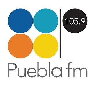 Puebla FM - Image: XHCOM Pueblafm logo