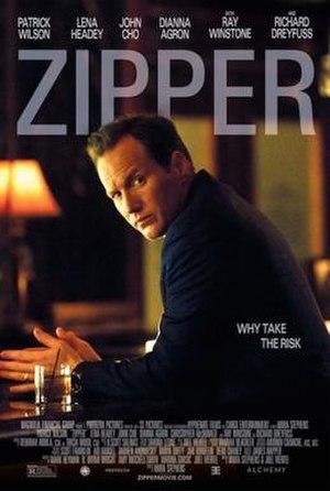 Zipper (film) - Theatrical release poster