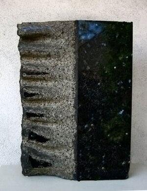 Minoru Niizuma - The Wave's Voice, granite sculpture by Niizuma Minoru, 1963, Honolulu Museum of Art