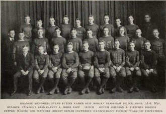 1918 Illinois Fighting Illini football team - Image: 1918 Illinois Fighting Illini football team