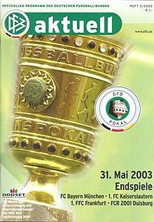 dfb pokal 2003
