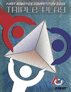 Triple Play (FIRST) - Image: 2005FRCCover