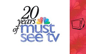 Must See TV - Title card for NBC's 2002 special, 20 Years of Must See TV