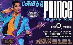 The Earth Tour: 21 Nights in London - Image: 21 Nights in London Banner