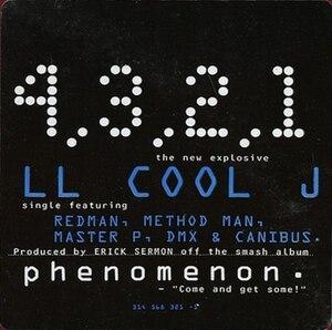 4, 3, 2, 1 (LL Cool J song) - Image: 4, 3, 2, 1 (LL Cool J single cover art)