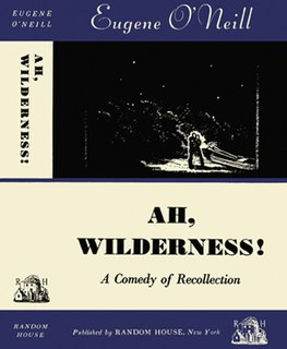 <i>Ah, Wilderness!</i> play by Eugene ONeill