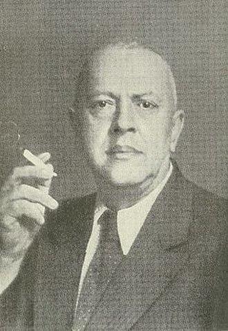 Alexander Mosolov - Alexander Mosolov in the 1950s