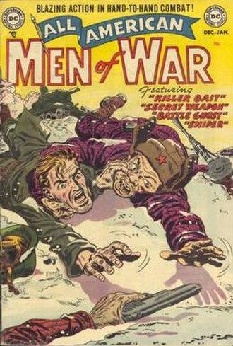 Men of War (comics) - Image: All American Men of War 02