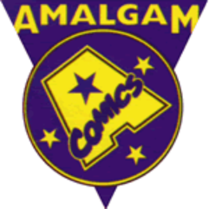 Amalgam Comics - Image: Amalgam Comics logo