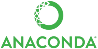 Anaconda (Python distribution) package manager, environment manager, and Python (and related packages) distribution