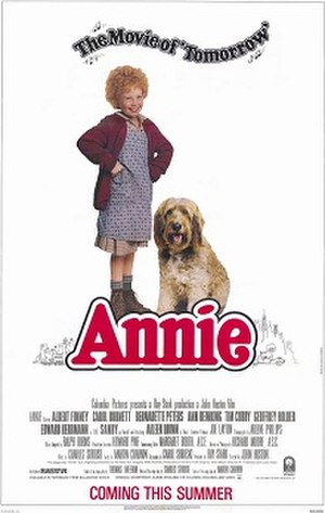 Annie (1982 film) - Theatrical release poster