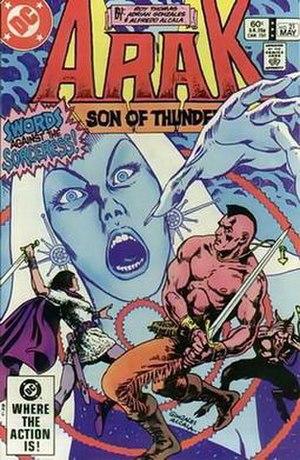 Arak (comics) - Image: Arakdcu 0