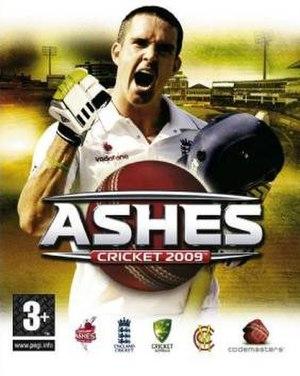 Ashes Cricket 2009 - Cover of EU version