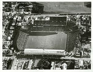 Athletic Park, Wellington - Image: Athletic Park Wellington 1971