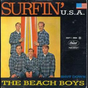 Surfin' U.S.A. (song) - Image: Beach boys surfin' usa