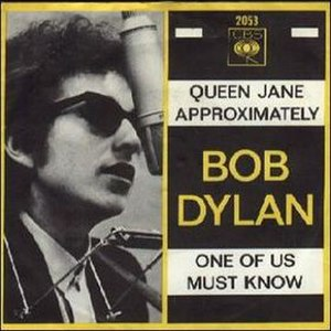 One of Us Must Know (Sooner or Later) - Image: Bob Dylan One of Us Must Know (Sooner or Later)