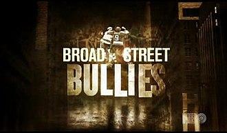 Broad Street Bullies (film) - Image: Broad Street Bullies intro