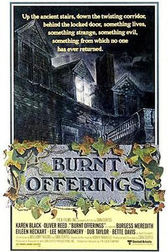 Burnt Offerings (film) - Theatrical release poster by Tom Jung