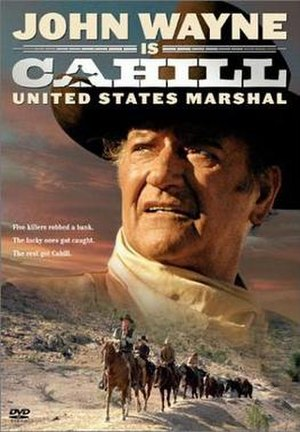 Cahill U.S. Marshal - DVD Cover for Cahill U.S. Marshal