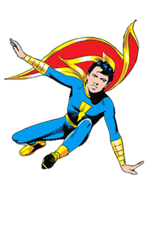 Captain Marvel Jr. (Frederick 'Freddy' Freeman) - Fawcett Comics - circa 1942.png