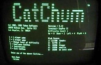 CatChum - Screenshot of CatChum title screen.